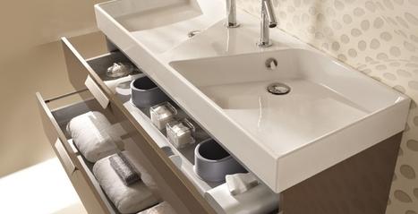Meuble vasque aubade for Colonne de salle de bain trackid sp 006