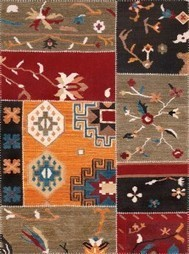 Rugsville Overdyed Patchwork Multi Wool 17205 Rug - KILIMS | Modern and Contemporary Rugs | Scoop.it