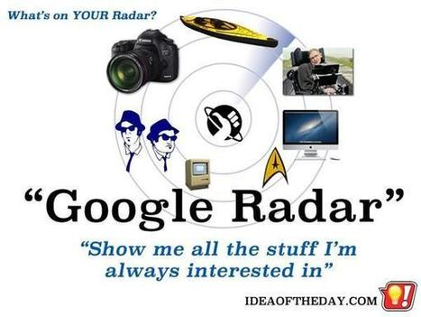 Google Radar - One Page With All the Stuff You Are Always Looking For. - Idea of the Day | PrintableCoupons | Scoop.it