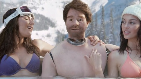 Is Old Spice's 'Mandroid' a Sexist Ad Campaign or a Satire of Sexist Ads? | I Wish I Thought Of That! | Scoop.it