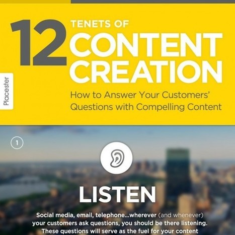 [Infographic] 12 Tenets of Content Creation | Content | Scoop.it