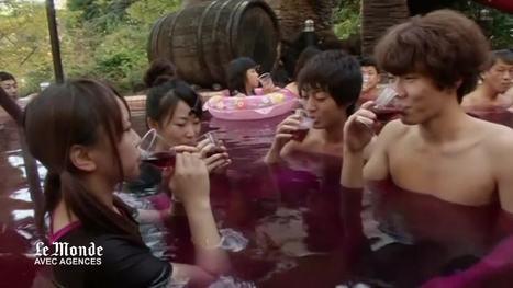 Japon : un bain de beaujolais pour fêter le millésime 2012 | Communication Agroalimentaire | Scoop.it