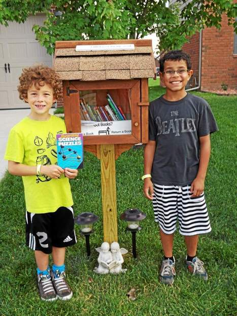 Macomb Township boys launch their own Local Library - The Macomb Daily | A bunch of stuff | Scoop.it