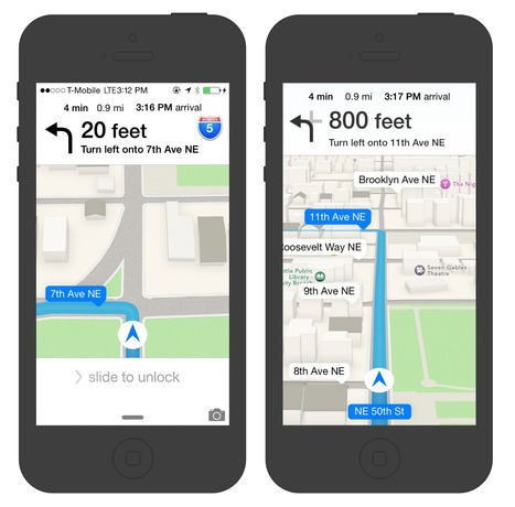 Design Explosions: Mapping on iOS | UX-UI design | Scoop.it