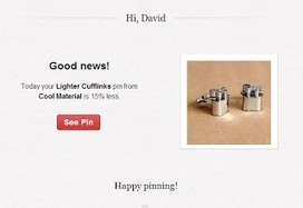 Capitalizing on Pinterest Rich Pins price notifications   Pinterest   Scoop.it
