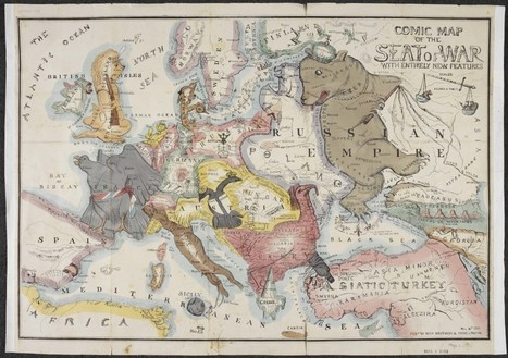 A Pooping Britain, a Russian Octopus, and Other Weird Maps | Management - Innovation -Technology and beyond | Scoop.it