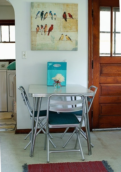 Flea Market Vintage Table and Chairs Revamp | DIY crafts and more | Scoop.it