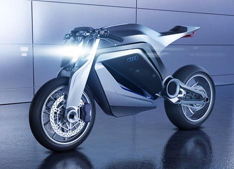 Audi Motorcycle - Ducati by Thibault Devauze | Art, Design & Technology | 2 ROUES ET MOI | Scoop.it