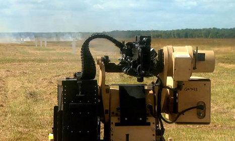 D'ici 5 ans, des robots dotés d'une intelligence artificielle seront équipés de fusils mitrailleurs   Robotique   Scoop.it