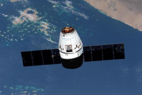 Dragon Arrives Friday | Space Station | The Blog's Revue by OlivierSC | Scoop.it