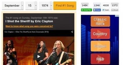 Birthday-song: trovare il successo musicale del giorno in cui sei nato   my blog   Scoop.it