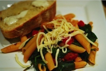 Spinach Pasta - a tossed Salad | Social media Marketing 1 | Scoop.it
