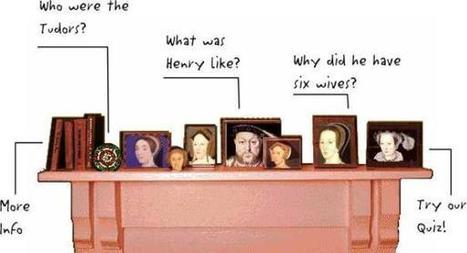 Henry VIII and the Tudors, a fun interactive site for 7-11 year olds Page 1. | Year 5 6 Tudors | Scoop.it