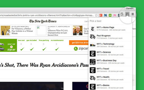 Follow Feed: a Chrome extension for Feedly to detect RSS feeds in pages | Documentation | Scoop.it
