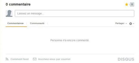 Le fonctionnement des commentaires Disqus | MAICRESSE | consomacteur e-commerce | Scoop.it