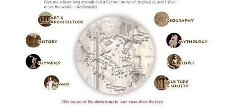Ancient Greece - History, mythology, art, war, culture, society, and architecture. | greek-history-ht | Scoop.it