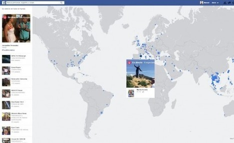 Facebook muestra en un mapamundi todas las retransmisiones en directo | TIKIS | Scoop.it