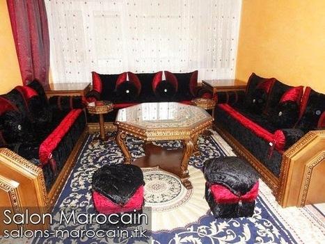 salon marocain contemporain solutions pour la d coration. Black Bedroom Furniture Sets. Home Design Ideas