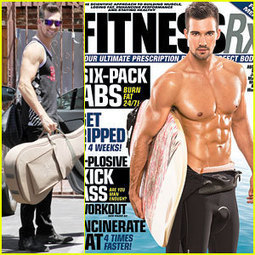 James Maslow Flashes Washboard Abs on 'Fitness RX' Cover ... | Waxaway | Scoop.it