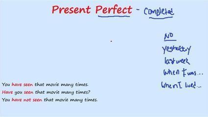 Present Perfect - Present Perfect | Articles re. education | Scoop.it