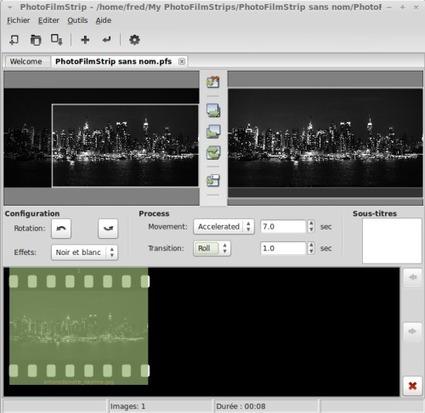 PhotoFilmStrip 2.0 pour Ubuntu et Linux Mint | Actualités de l'open source | Scoop.it