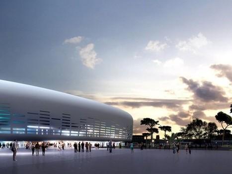 Ricciotti signe le Bordeaux Métropole Arena, un nouveau complexe de loisirs | Architectes | Scoop.it