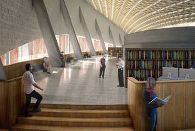 Iraq Unveils Gorgeous Plans for First New Public Library Since 1970s | Design on GOOD | architecture | Scoop.it