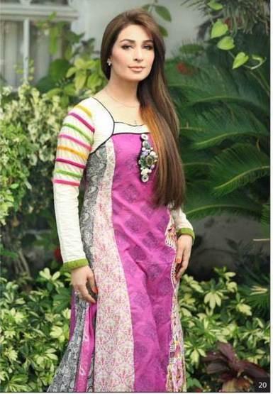 Reema Khan Endorsing Lawn Collection | Women Dresses | Scoop.it