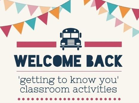 9 Great Back-to-School Activities | Todoele - Enseñanza y aprendizaje del español | Scoop.it