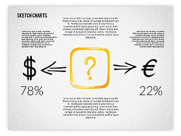 Financial Sketch Style Charts | PowerPoint Diagrams, Charts, and Shapes | Scoop.it