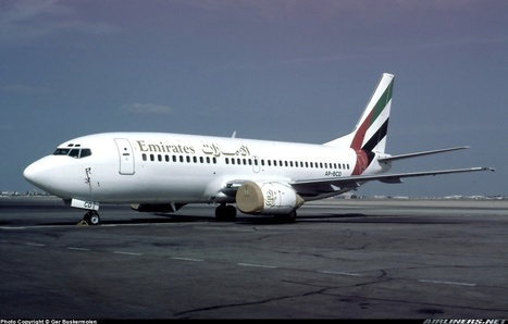 Photos: Boeing 737-340 Emirates... where all started! | Aviation & Airliners | Scoop.it