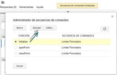 Como programar sus Formularios de Google y limitar Presentaciones | PCWebtips.com | hezkuntzanIKT | Scoop.it