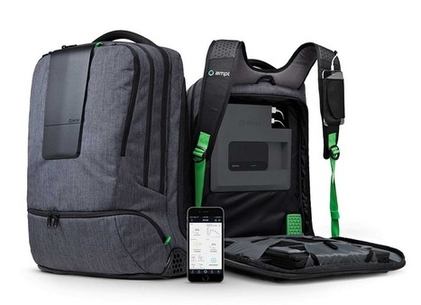 Ampl : Un sac à dos connecté ultra-pratique | PixelsTrade Webzine | Business Apps : Applications in-house | Scoop.it