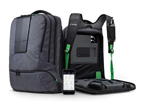 Ampl : Un sac à dos connecté ultra-pratique | PixelsTrade Webzine | Business Apps : Applications in-house | Scoop.it