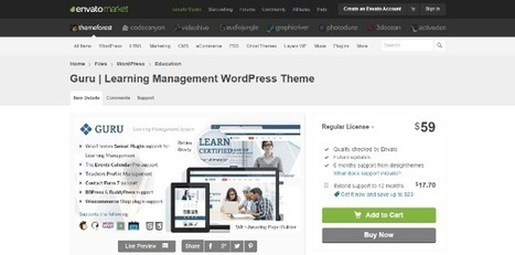 Top 10 E-learning WordPress Plugins for Online Course Management System | Teaching and Learning software and topics | Scoop.it