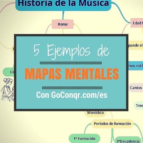 Inspírate: 5 Ejemplos de Mapas Mentales Extraordinarios | Recull diari | Scoop.it