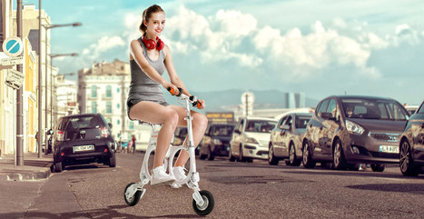 Airwheel E3 Foldable Electric Bike Can Be Filled In Backpack, Sweeps Market with New Fashion | Press Release | Scoop.it