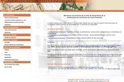 Lancement d'un portail Web pour les archives de Pontarlier | Au hasard | Scoop.it