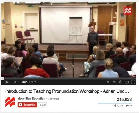 My top 10 resources for learning about and teaching pronunciation | English Phonology | Scoop.it