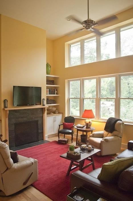 Photos: ECO's Green Home Tour   Mountain Xpress   Asheville, NC   Casa ecológica o autosuficiente.   Scoop.it