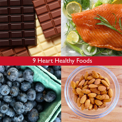 Top 9 Heart Healthy Favorites: From Flax to Dark Chocolate | Live Total Wellness | Scoop.it
