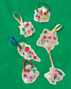 Make Glue Ornaments for Christmas | Christmas Decorations | Scoop.it