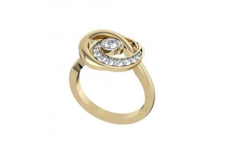 Delicate diamond gift ring | Diamond Jewellery India | Scoop.it