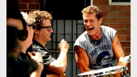 VIDEO, GALLERY:No hassles as the Hoff lends a hand | David Hasselhoff News | Scoop.it
