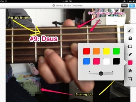 Great improvements to Evernote Skitch for iPad andiPhone! | iPads, MakerEd and More  in Education | Scoop.it