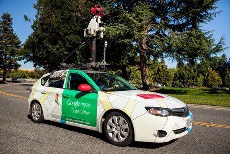 "Google Street View Cars Monitor Air Pollution | ""green business"" 