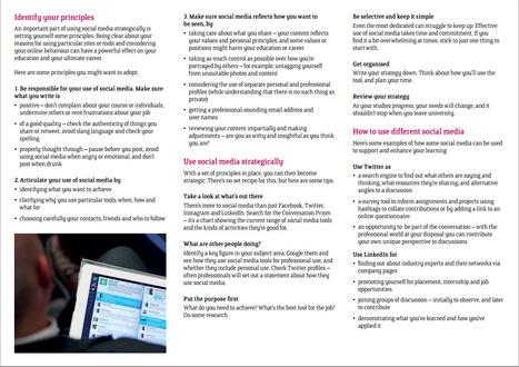 Social media: identifying and harnessing opportunities |  Sheffield Hallam University | Media Literacy | Scoop.it