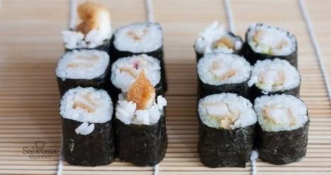 Cómo hacer sushi en casa paso a paso - Sabrosía   Entornos Personales de Aprendizaje   Scoop.it