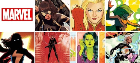 Women At Marvel Comics Watch – March 2014 Solicits | Ladies Making Comics | Scoop.it