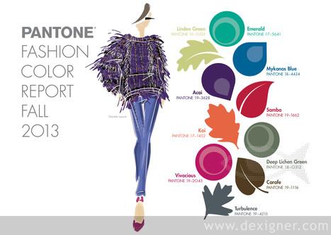 Pantone Fashion Color Report Fall 2013 - Dexigner | pottery fun | Scoop.it